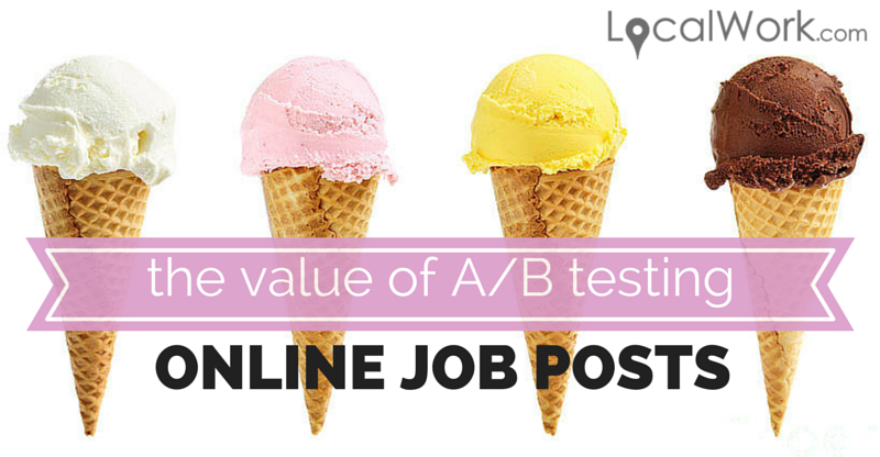 the value of A-B testing