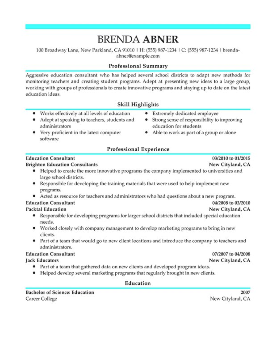 Teacher Resume Templates Word Enomwarbco  Teaching Resume Templates