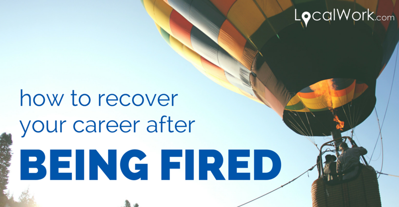 How to make a resume after being fired