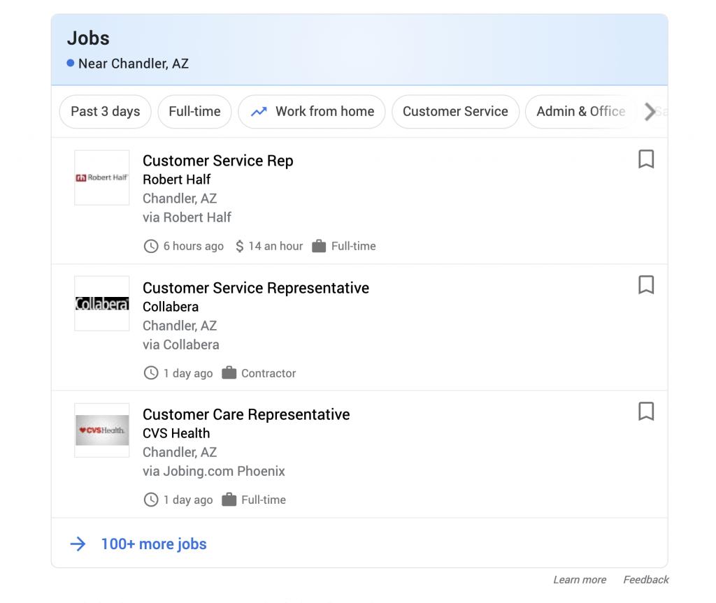 Arizona job posting sites